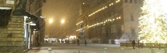 Neve sull'Emilia-Romagna, traffico regolare