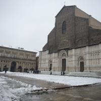La prima neve a Bologna