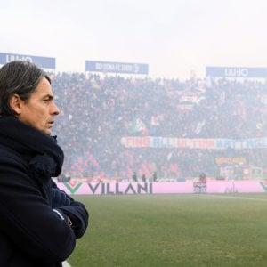 """Bologna calcio, Inzaghi l'ottimista prova a resistere: """"Le colpe? Di tutti, mie per primo"""""""