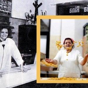 Addio Rina, la nonna dei tortellini