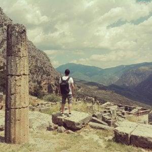 Col premio dell'Eredità giovane archeologo reggiano scopre il Teatro dell'ultima tragedia di Euripide