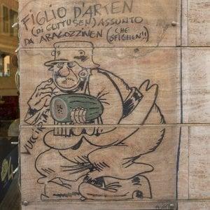 Sanremo, la storia del misterioso murale di Bonvi
