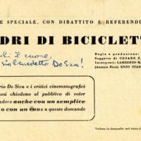 """Ladri di biciclette, quando il pubblico scriveva: """"Non è un film, ma la realtà"""". """"De Sica, che tu sia benedetto!"""""""
