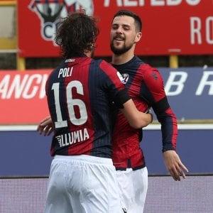 Destro non basta, solo un pari col Genoa