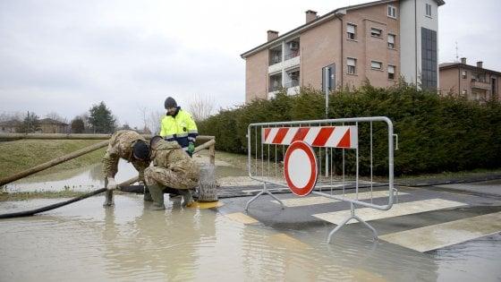 Alluvione del Reno nella Bassa bolognese, esposto del M5s