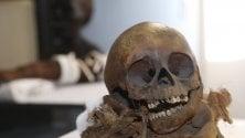 "La mummia restaurata  ""in diretta"" protagonista di ""Storie d'Egitto"""