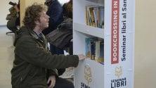 """Bookcrossing in ospedale """"Libri per la vita""""  Foto  da scegliere al S.Orsola"""
