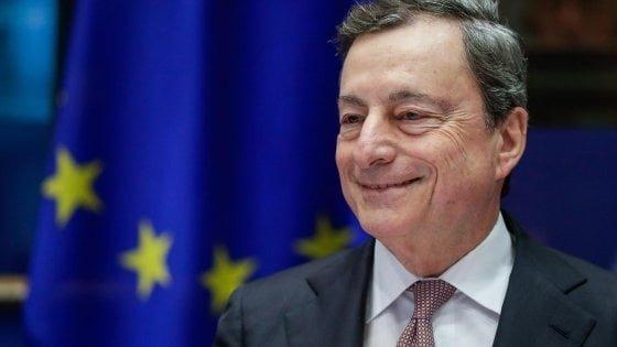 """Laurea ad honorem a Bologna per Mario Draghi: """"Il 75% d"""