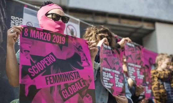 Le donne di Bologna si prendono la piazza: sciopero dell'8 marzo