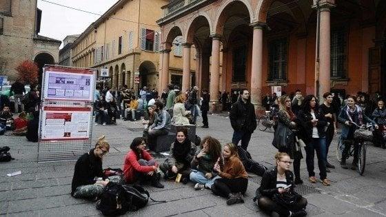 Ateneo di Bologna, ipotesi caro tasse. La protesta degli studenti