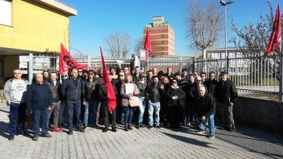 Lavoro Bologna, sciopero all'Alcisa