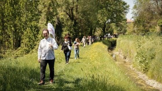 Bologna: la marcia del bosco dei Prati di Caprara