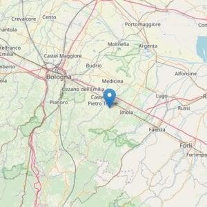 Terremoto a Dozza, scossa di magnitudo 3 registrata nel Bolognese