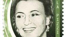 Il francobollo per il centenario di Nilla Pizzi