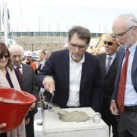 Bologna, Renzo Piano posa la prima pietra dell'hospice pediatrico Seragnoli