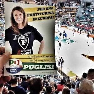 """""""Una fortitudina in Europa"""": polemiche sulla campagna elettorale di Francesca Puglisi"""