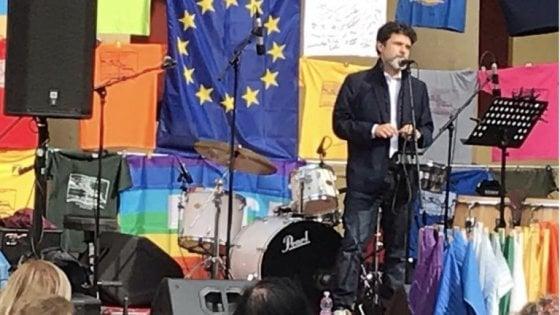25 aprile, l'orazione civile di Luca Bottura a Sasso Marconi