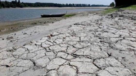 Ferrara, allarme siccità rientrato per il fiume Po