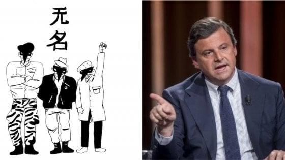 "Calenda contro i Wu Ming: ""Siete fascisti inconsapevoli"""