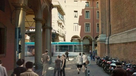 Mobilità Bologna, il tram corre in via dell'Indipendenza