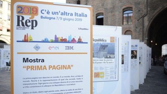 """""""C'è un'altra Italia"""": Rep Idee debutta a Bologna"""