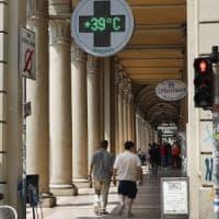 Bologna, il giorno del grande caldo