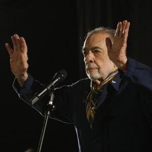 """Coppola a Bologna: """"Il mio ultimo Apocalypse Now, il migliore possibile"""""""