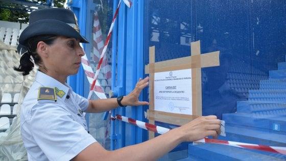 La guardia di Finanza sequestra parte dello stadio di Ferrara