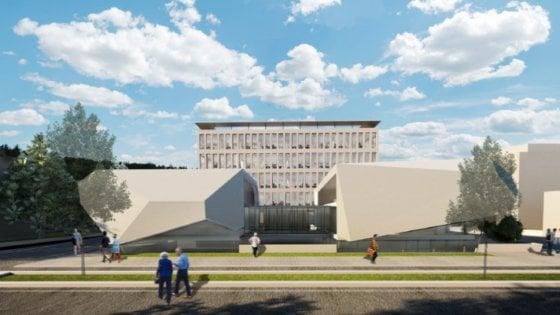 L'università di Bologna alza la Torre biomedica