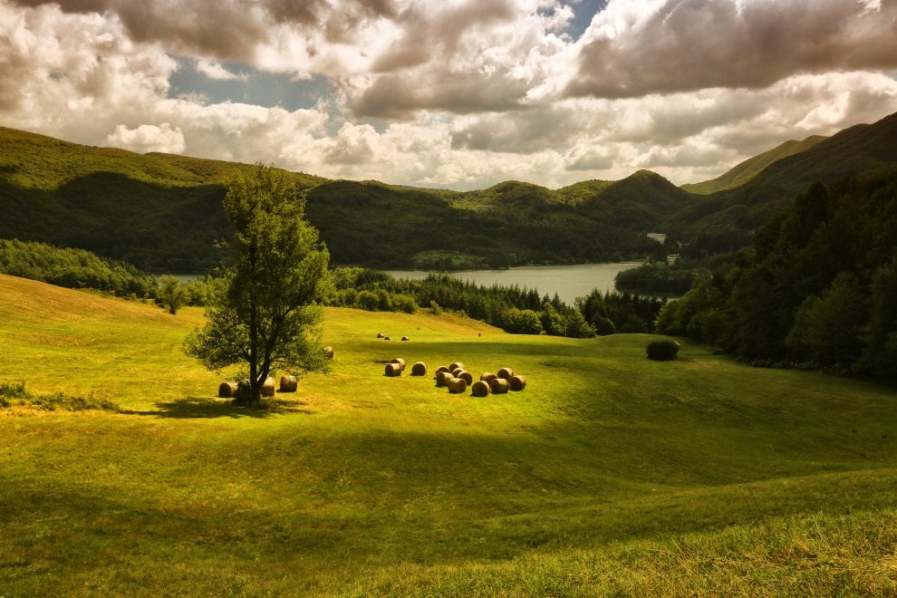 Cartoline da Lagolandia: i week end d'estate sui laghi dell'Appennino di Bologna