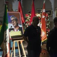 Bologna, la camera ardente per l'ultimo saluto a Bruno Papignani