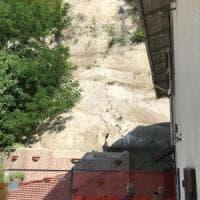 Tre famiglie evacuate per frana nel Bolognese