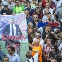 Mihajlovic seguirà il nuovo ritiro del Bologna dall'ospedale