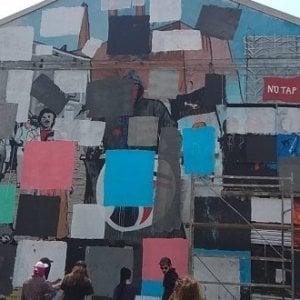 Xm24 cancella i suoi murales tutelati dalla Soprintendenza
