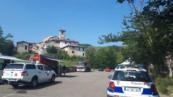 """Piacenza, quinto giorno di ricerche dei due scomparsi. """"Massimo, pentiti e torna a casa"""""""
