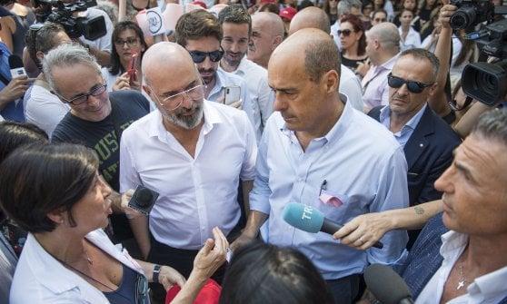 """Zingaretti a Ravenna: """"Adesso si cambia tutto"""""""