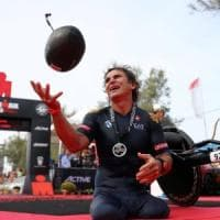 Incredibile Ironman Zanardi, nuovo record mondiale nella gara di triathlon