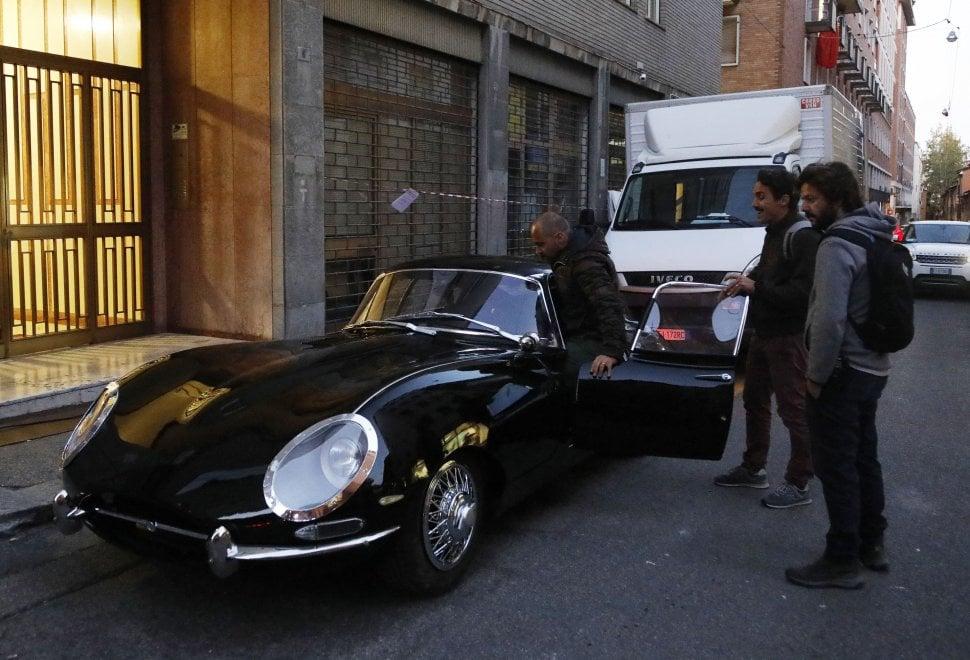 Bologna, sul set di Diabolik