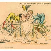 """Calendari, bolli e pubblicità: """"Bici davvero!"""", in mostra a Modena le figurine sui velocipedi e sui grandi ciclisti"""