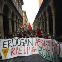 Curdi sotto attacco della Turchia di Erdogan, Bologna si mobilita