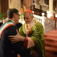 La messa di Zuppi in San Petronio, Bologna abbraccia il suo cardinale