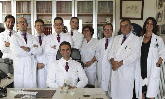 Al Rizzoli di Bologna il primo trapianto al mondo di vertebre umane