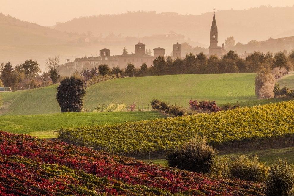 Fra castelli e vigne, l'autunno è una poesia sulle colline di Modena e Bologna