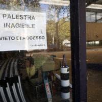 Bologna, la palestra dello Sterlino abbandonata