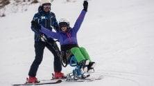 Condividere la passione  per lo sci: al Cimone  riparte il corso   Foto   per accompagnatori