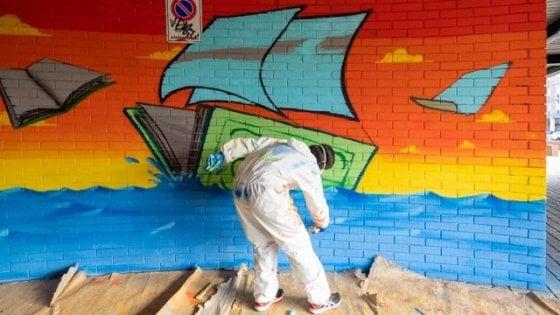 Scuola Bologna, quei ragazzi del Copernico che dipingono muri, non li imbrattano