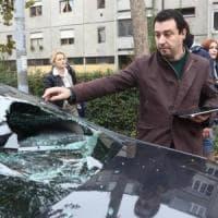 Assalto all'auto di Salvini, 20 attivisti a processo