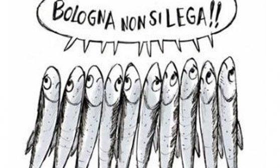 """""""Ci disegni le sardine?"""": così è nato il logo del movimento"""