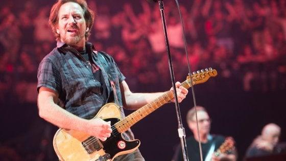 Concerto dei Pearl Jam a Imola il 5 luglio