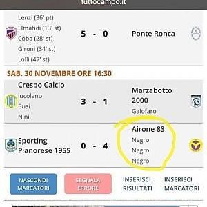 """Calcio e razzismo a Bologna, tripletta del """"Negro"""" sul tabellino degli juniores"""